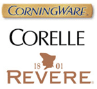 Corningware Corelle Revere Outlet Hours of Operation
